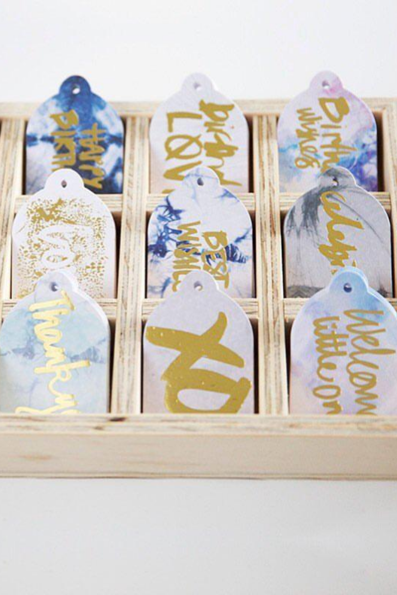 Rachel Kennedy Designs Gift Tag Collection Loft Lifestyle Store