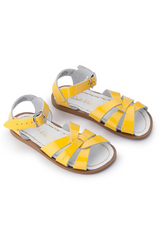 Salt Water Original Shiny Yellow Sandal Kids Profile Loft Image