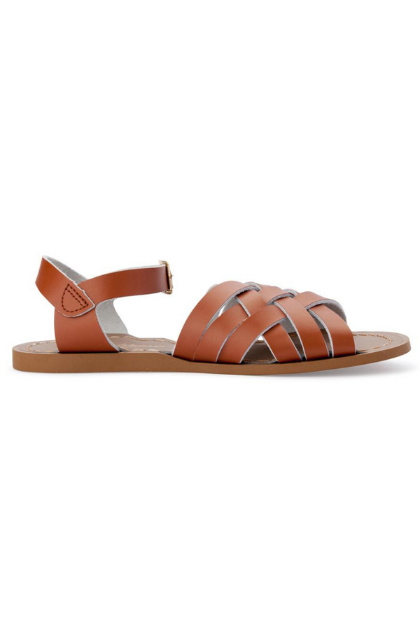 Salt Water Sandals Retro Sandal Child Tan Side Loft