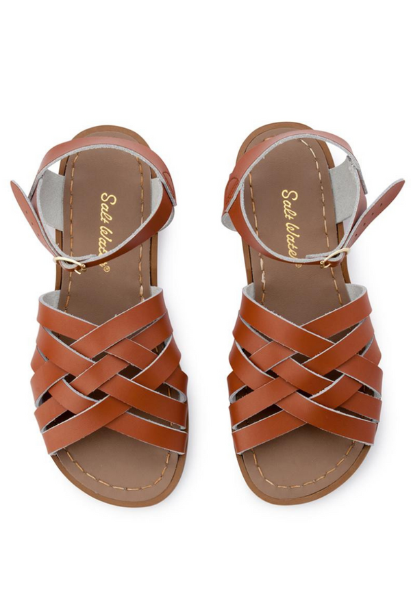 Salt Water Sandals Retro Sandal Child Tan Top Loft
