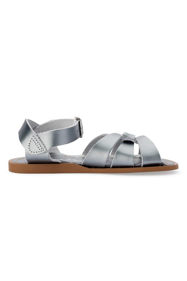 Salt Water Sandals Original Infant Child Youth Pewter Side Image Loft