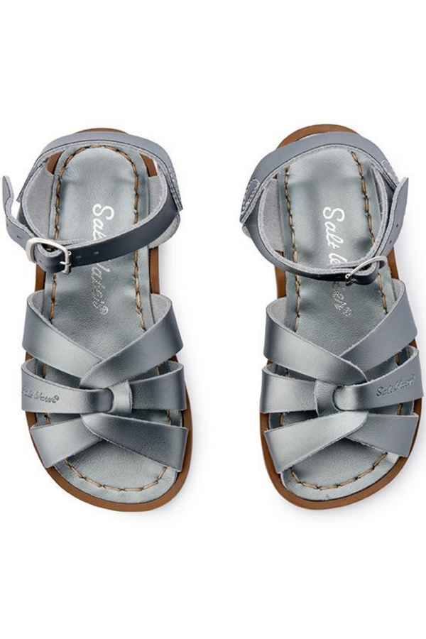 Salt Water Sandals Original Infant Child Youth Pewter Top Image Loft