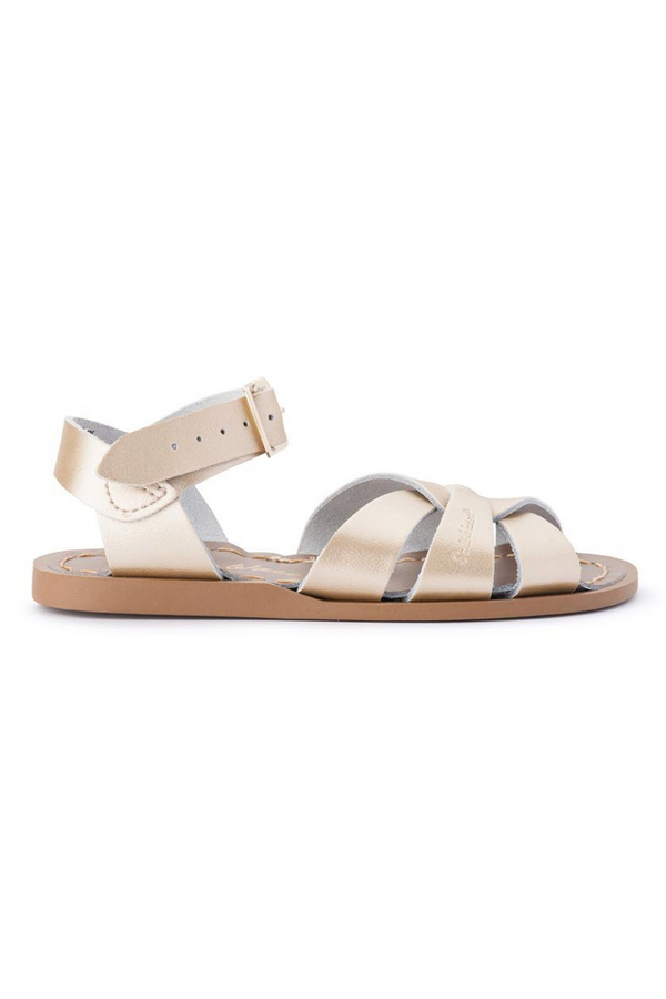 Salt Water Sandals Original Infant Gold Side Image Loft