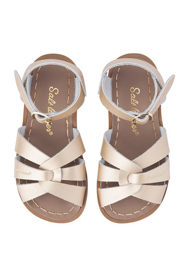 Salt Water Sandals Original Infant Gold Top Image Loft