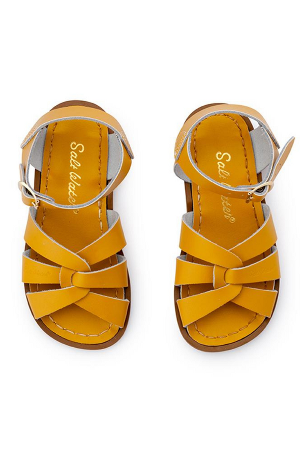 Salt Water Sandals Original Infant Mustard Top Image Loft