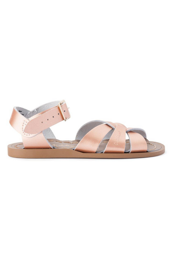 Salt Water Sandals Original Infant Rose Gold Side Image Loft