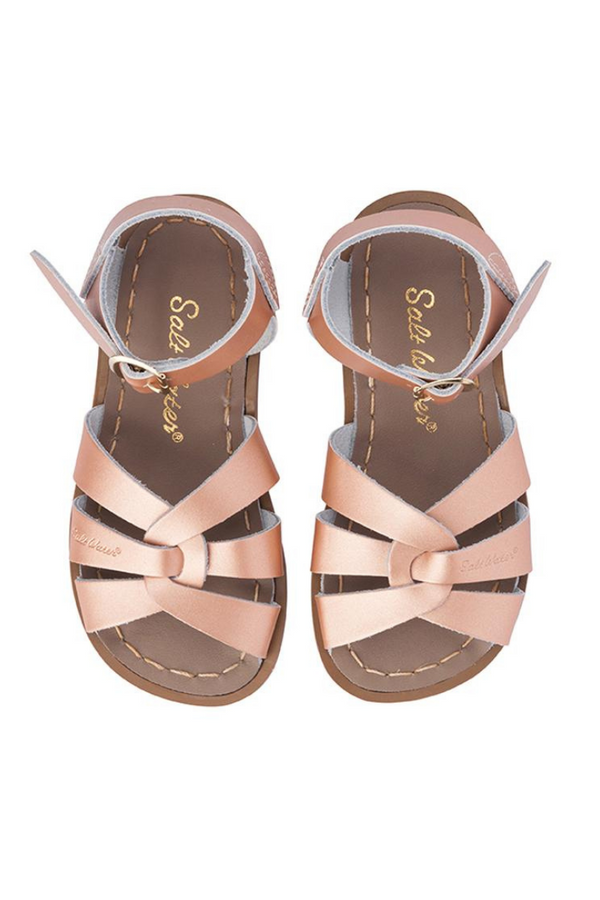 Salt Water Sandals Original Infant Rose Gold Top Image Loft