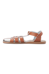 Salt Water Sandals Shark Youth Tan Side Two Loft Image