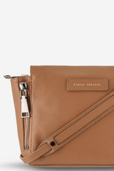 Status Anxiety The Ascendants Bag Tan Leather Detail Image Loft