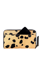Status Anxiety Delilah Wallet Wild Cat Cowhide Leather Front Image