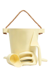 The Beach People Beach Toy Set Pale Yellow Flatlay Image