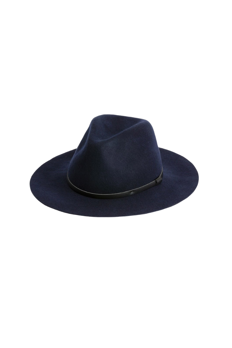 Will And Bear Anderson Mens Womens Wide Floppy Brim Fedora Australian Wool Side