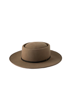 Will And Bear Whitman Moss Men's Womens Wide Round Crown Australian Wool Hat Front