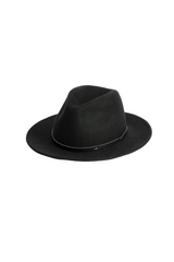 Will And Bear William Hat Mens Womens Wide Floppy Brim Fedora Australian Wool Front