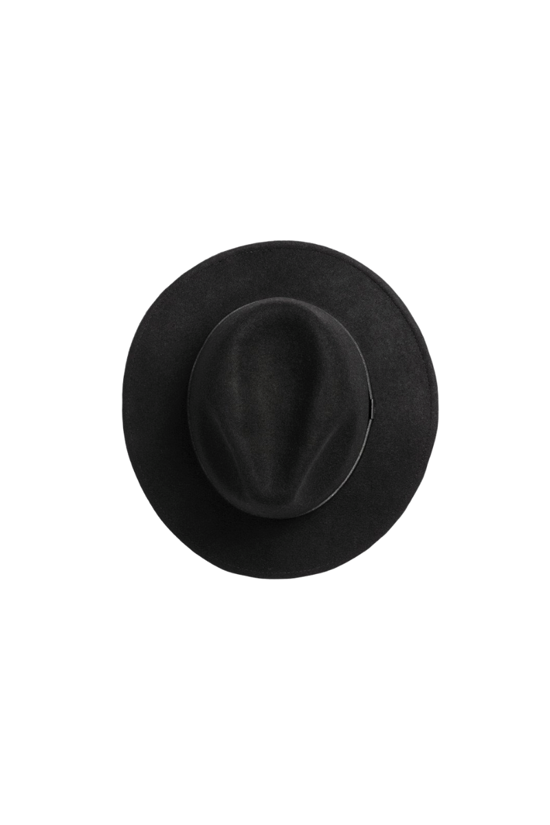 Will And Bear William Hat Mens Womens Wide Floppy Brim Fedora Australian Wool Top Image