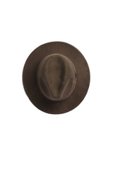 Will And Bear William Hat in Brown Mens Womens Wide Floppy Brim Fedora Australian Wool Top Image