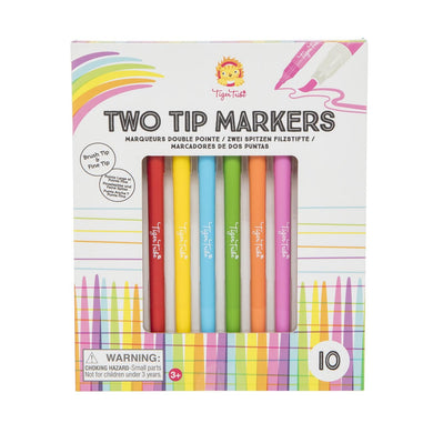 TWO TIPS MARKERS- TIGER TRIBE