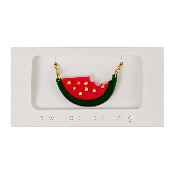 WATER MELON NECKLACE