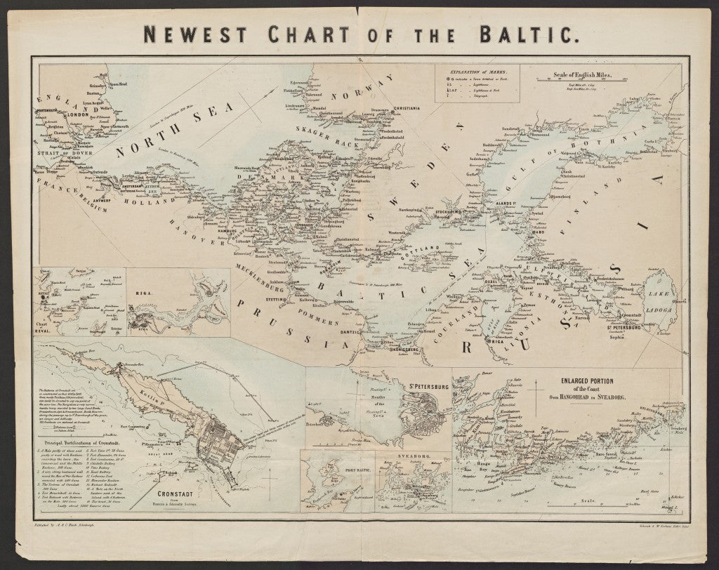 Newest chart of the Baltic