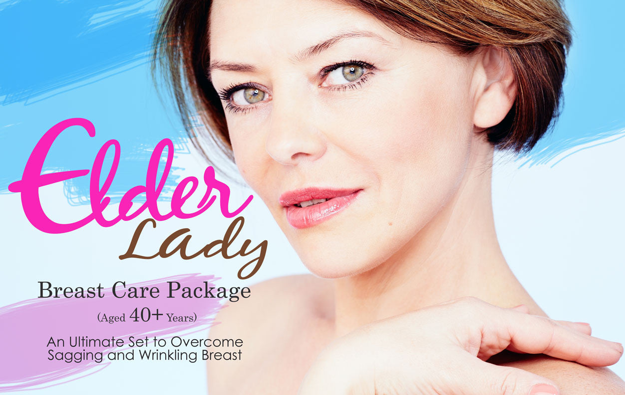 Elder Lady Breast Care Package (Aged 40+ Years)...new