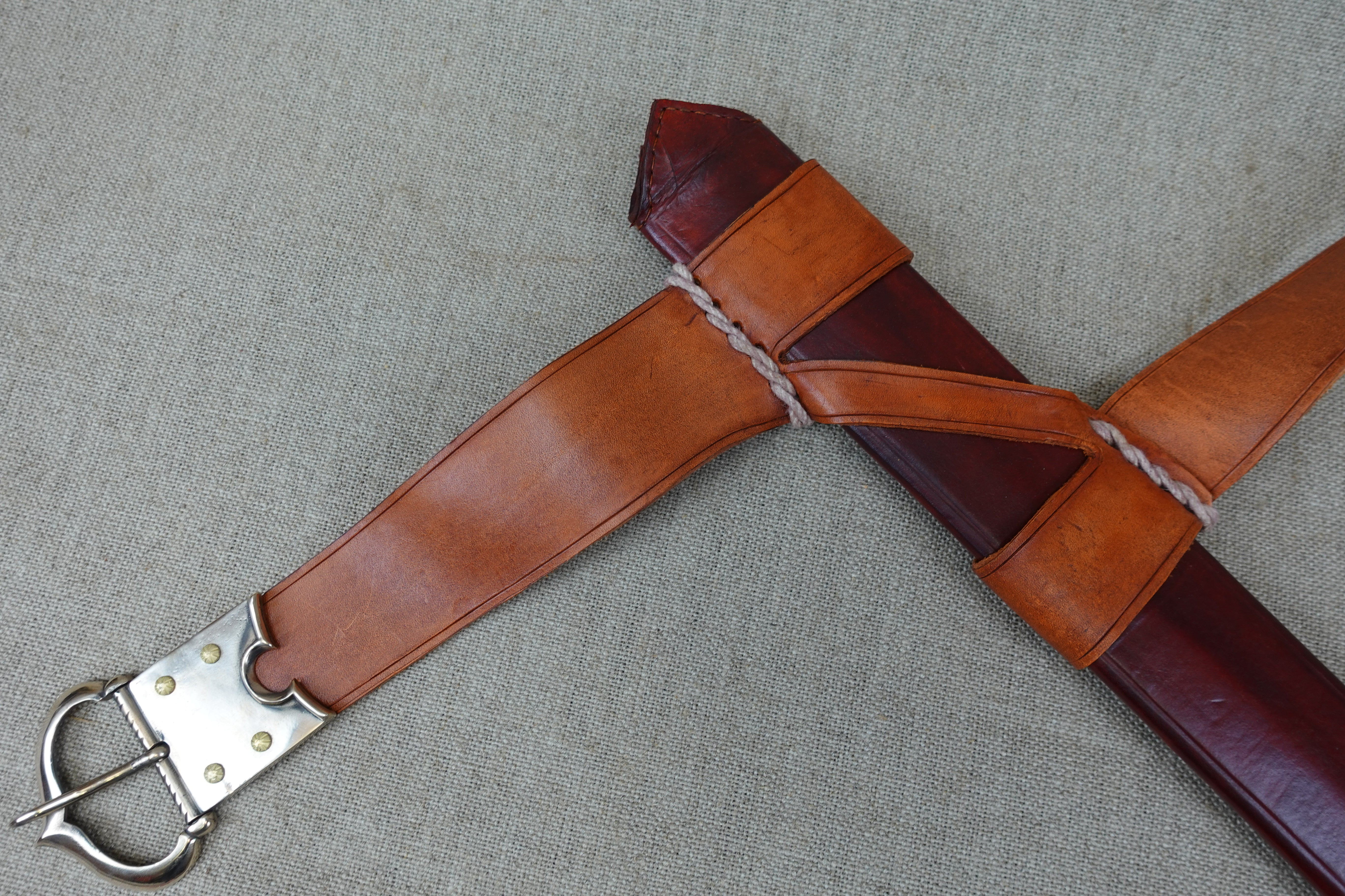 Albion Knight Sl Knightly Sword Scabbard Sold Tod S Workshop