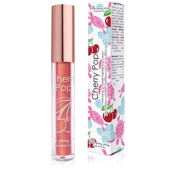 Cherry Pop - Intense Lip & Cheek Highlighting Cream