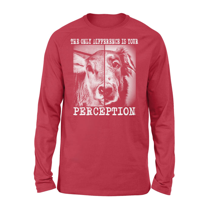 WildFreeSpirit Vegan Shirts Perception - Standard Long Sleeve