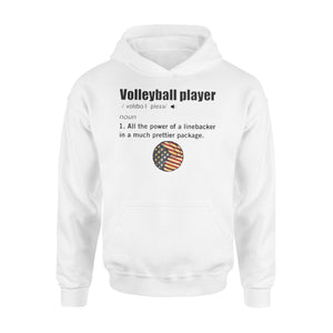 WildFreeSpirit Volleyball Shirts Volleyball player - Standard Hoodie