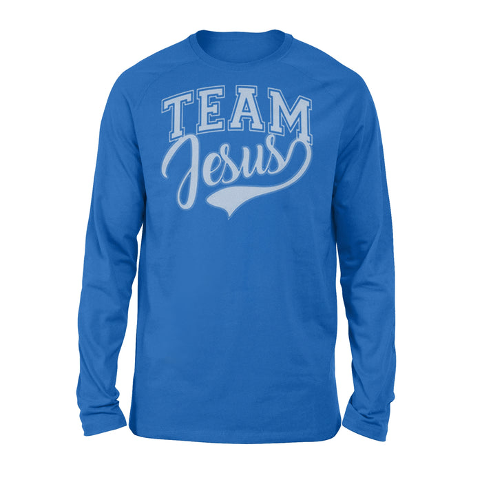 WildFreeSpirit Jesus Shirt Team Jesus Shirt Funny Meme - Standard Long Sleeve