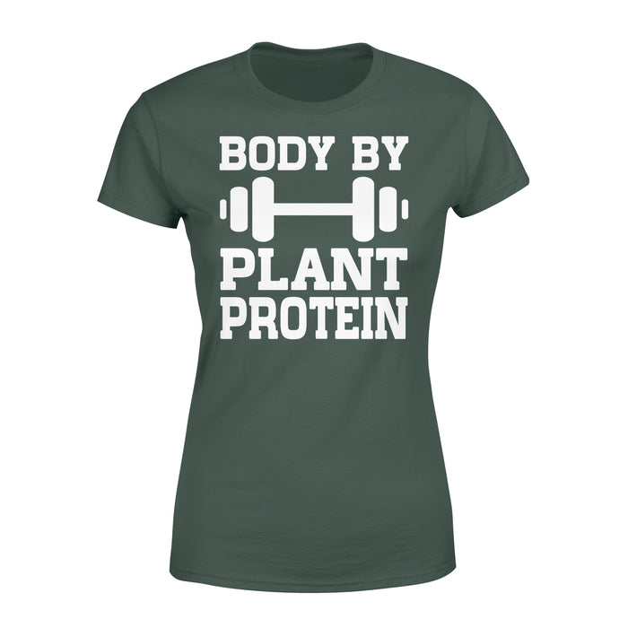 WildFreeSpirit Vegan Shirts Body By Plant Protein - Standard Women's T-shirt