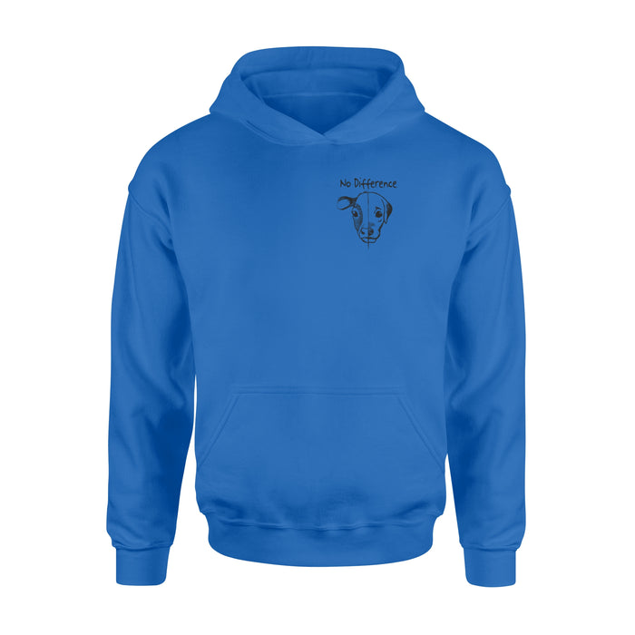 WildFreeSpirit Vegan Shirts No Difference - Standard Hoodie