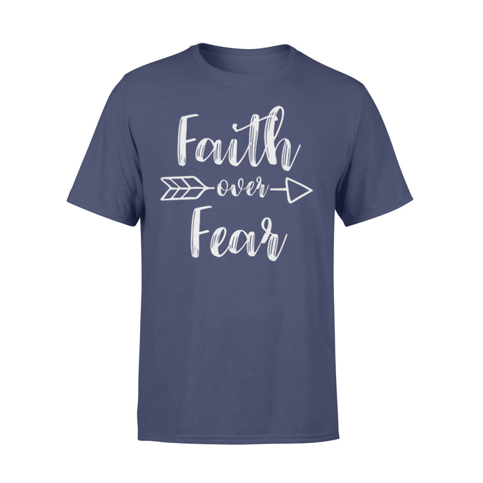 WildFreeSpirit Jesus Shirt Faith Over Fear - Standard T-shirt