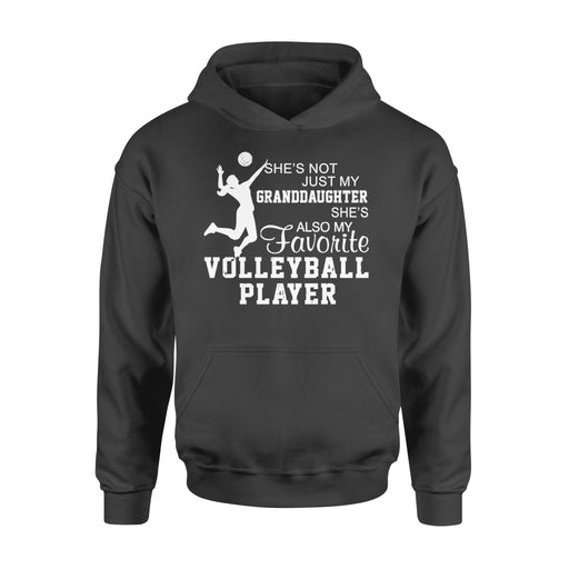 WildFreeSpirit Volleyball Shirts She's Not Just My Granddaughter - Standard Hoodie