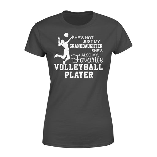 WildFreeSpirit Volleyball Shirts She's Not Just My Granddaughter - Standard Women's T-shirt
