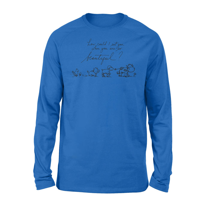 WildFreeSpirit Vegan Shirts Beautiful Animals - Standard Long Sleeve