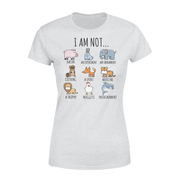 WildFreeSpirit Vegan Shirts  I Am Not - Standard Women's T-shirt