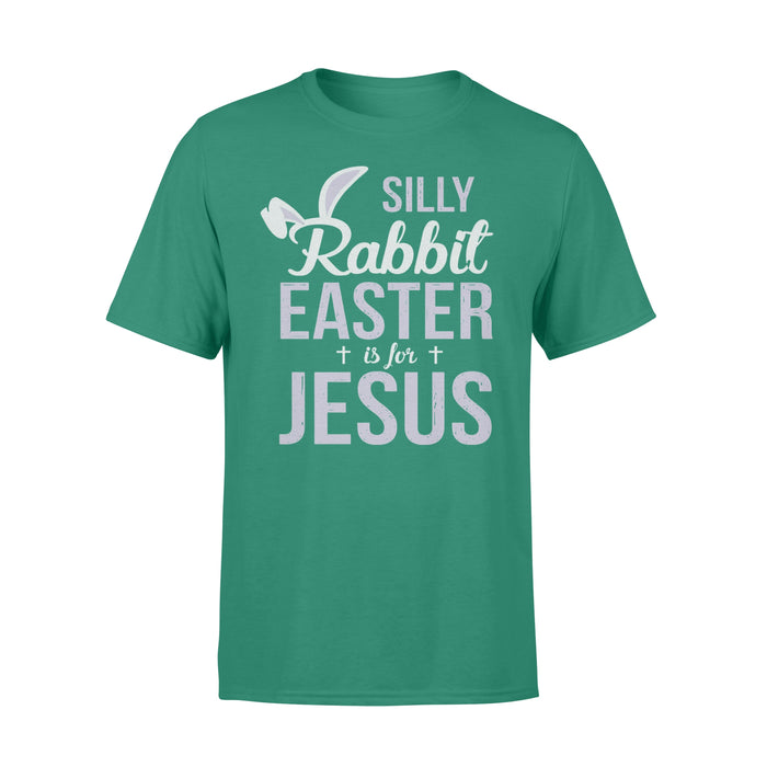 WildFreeSpirit Jesus Shirt Funny Christian T Shirt Silly Rabbit Easter Is For Jesus - Standard T-shirt