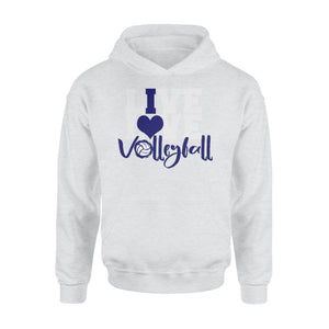 WildFreeSpirit Volleyball Shirts Live Love Volleyball - Standard Hoodie