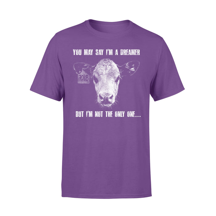 WildFreeSpirit Vegan Shirts You May Say I'm A Dreamer - Standard T-shirt