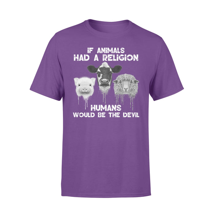 WildFreeSpirit Vegan Shirts If Animals Had A Religion - Standard T-shirt