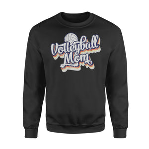 WildFreeSpirit Volleyball Shirts Volleyball Mom Shirt - Standard Fleece Sweatshirt