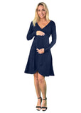Maternity Wrap Dress - Lilly & Me - maternity wrap dress