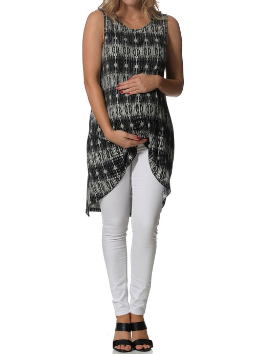 maternity tunic - long & stretchy
