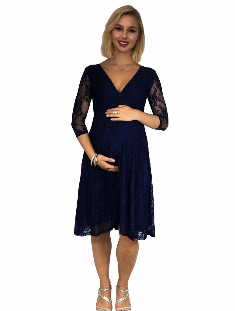 Maternity & Nursing Lace Evening Dress - Lilly & Me -