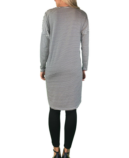maternity tunic - striped