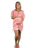 Isabel Boho Maternity Kaftan Top - Isabel Boho Maternity Kaftan Top