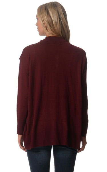Lilly Maternity Jumper - Burgundy