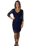 Maternity & Nursing Lace Evening Dress - maternity dress
