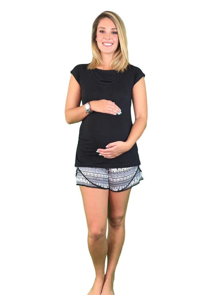 Maternity & Nursing Pyjamas - Tribal Print -