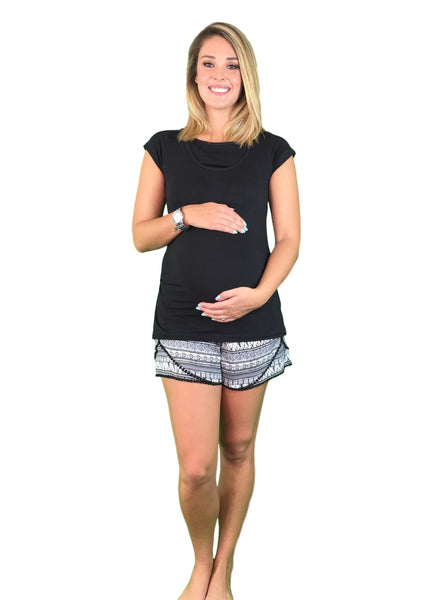 Maternity & Nursing Pyjamas - Tribal Print